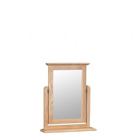 Newhaven Oak Trinket Mirror